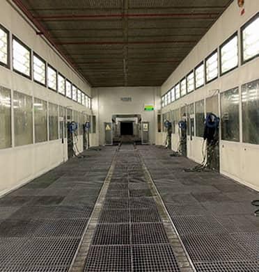Neteja industrial d'instal·lacions